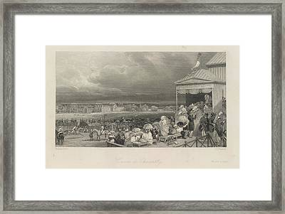 Cources De Chantilly Framed Print by British Library