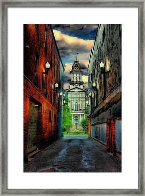 Courthouse Framed Print by Tom Mc Nemar