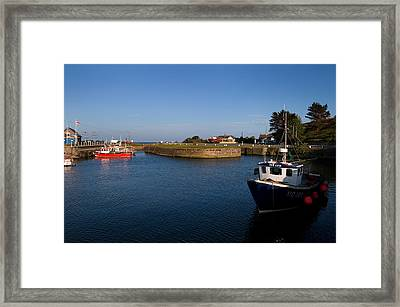 Courtown Fishing Harbour, Near Gorey Framed Print by Panoramic Images