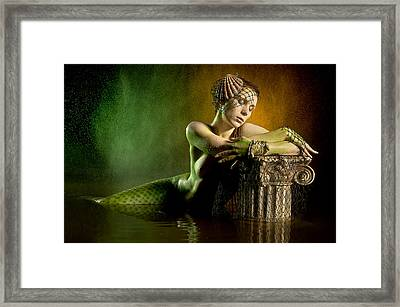 Couture Mermaid Framed Print by Adam Chilson