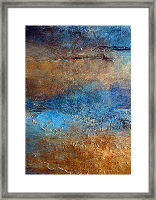 Cove Framed Print by Holly Anderson