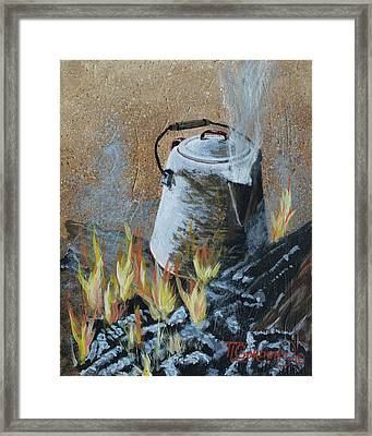 Cowboy Style Framed Print by Timithy L Gordon