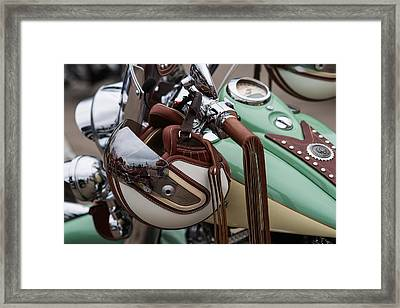 Cowboys Of The 21st Century - Featured 3 Framed Print by Alexander Senin