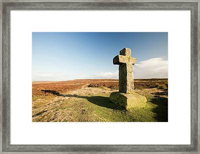 Cowpers Cross Framed Print by Ashley Cooper