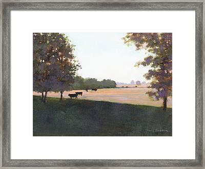 Cows 5 Framed Print by J Reifsnyder