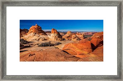 Coyote Lines Framed Print by Chad Dutson