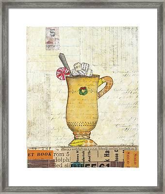 Cozy Cups Iv Framed Print by Courtney Prahl