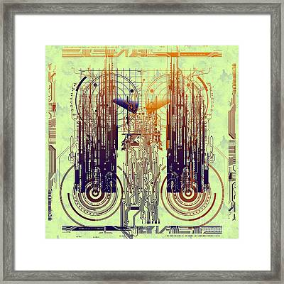 Cpu I Framed Print by Diuno Ashlee
