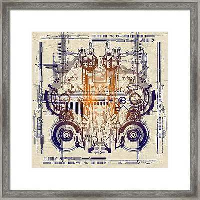 Cpu IIi Framed Print by Diuno Ashlee