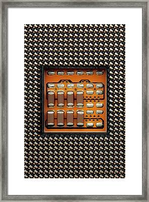 Cpu Socket Framed Print by Antonio Romero