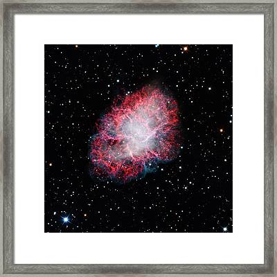 Crab Nebula Framed Print by Adam Block/mount Lemmon Skycenter/university Of Arizona