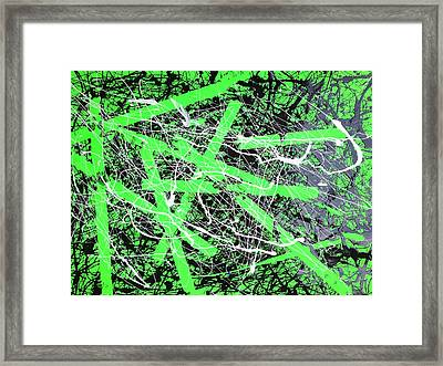 Crackin' It Wide Open Framed Print by Andrew Martin