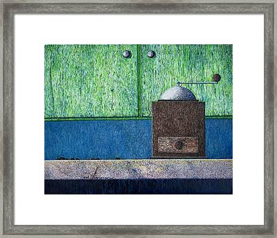 Crafting Creation Framed Print by A  Robert Malcom