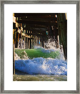 Crash Into Me Framed Print by Scott Campbell