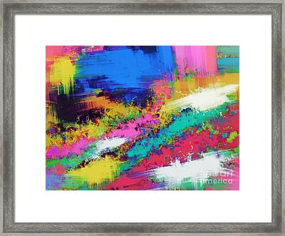 Crawl Framed Print by Keith Mills