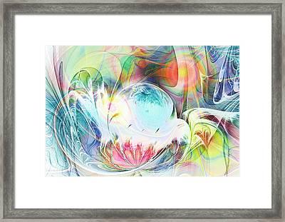 Creation Framed Print by Anastasiya Malakhova