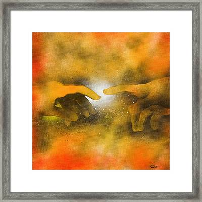 Creation Framed Print by Hakon Soreide