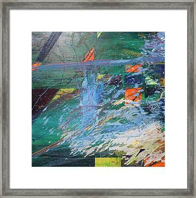 Creation Framed Print by Lisa Kramer