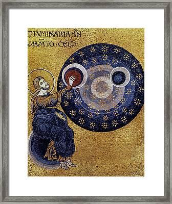 Creation Of Heaven Framed Print by Granger
