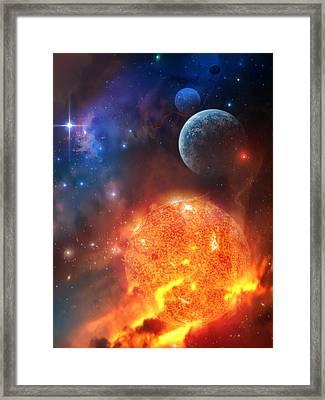 Creation Framed Print by Philip Straub