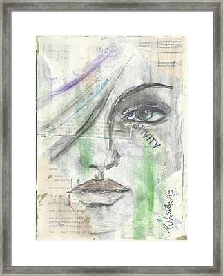 Creativity Framed Print by P J Lewis