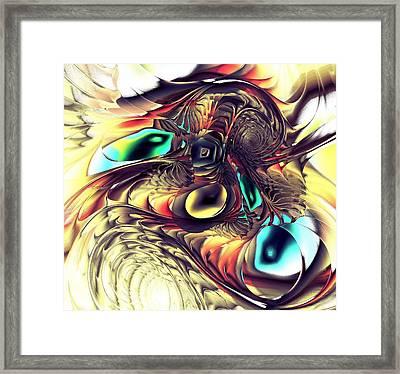 Creature Framed Print by Anastasiya Malakhova