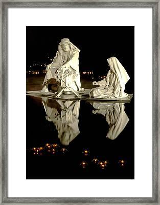 Creche Framed Print by David Andersen