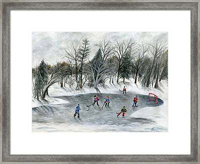Credit River Dreams Framed Print by Brianna Mulvale