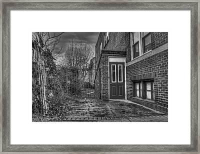 Creepy Gate Framed Print by Tim Buisman