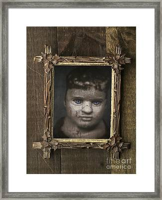 Creepy Relative Framed Print by Edward Fielding