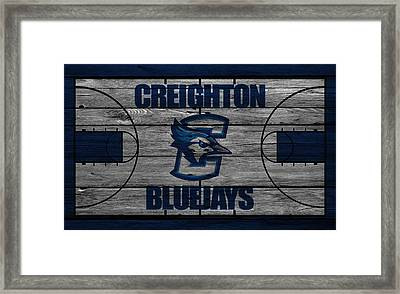 Creighton Bluejays Framed Print by Joe Hamilton