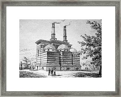 Crematorium Framed Print by Bildagentur-online/tschanz