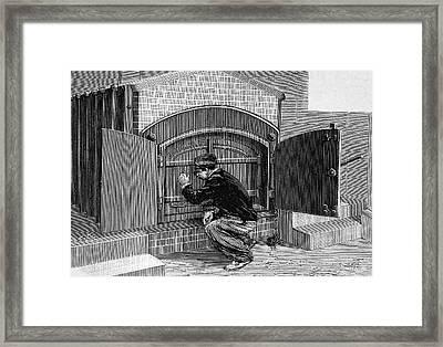 Crematorium Furnace Framed Print by Bildagentur-online/tschanz