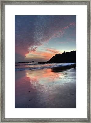 Crescent Bay Reflections Framed Print by Cliff Wassmann