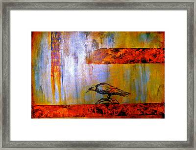 Cria Cuervos Framed Print by Thelma Zambrano