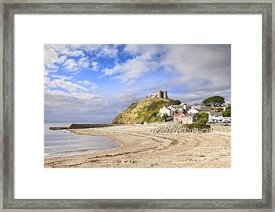 Criccieth Castle North Wales Framed Print by Colin and Linda McKie