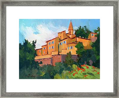 Crillon Le Brave Framed Print by Diane McClary