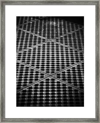 Criss Cross Framed Print by Christi Kraft