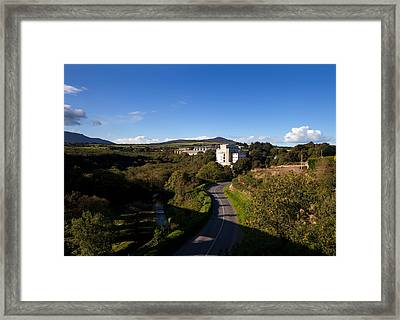 Croaghaun Hill And Flahavans Mills Framed Print by Panoramic Images
