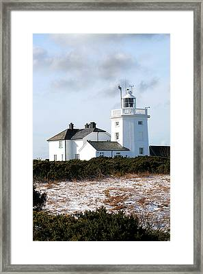 Cromer Lighthouse Framed Print by Paul Lilley