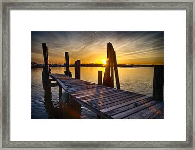 Crooked Framed Print by Kristopher Schoenleber