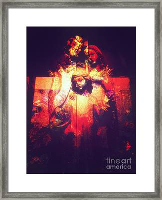 Crossed Framed Print by Davy Cheng