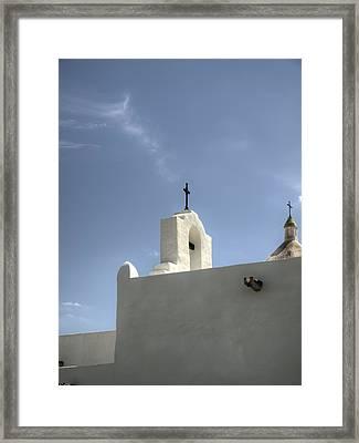 Crosses Of Espirtu Santo Color Framed Print by Joshua House