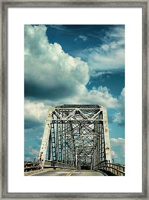 Crossing Lake Barkley Framed Print by Jai Johnson