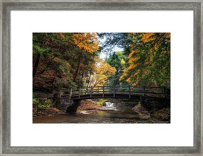 Crossing Over Framed Print by Mark Papke