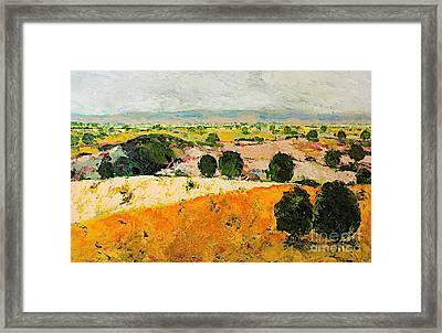 Crossing Paradise Framed Print by Allan P Friedlander