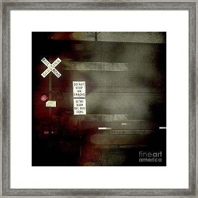Crossing The End Framed Print by Trish Mistric