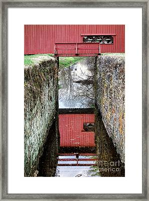 Crossings Framed Print by Olivier Le Queinec