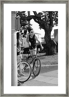 Crossroad Small Talk Framed Print by Viktor Savchenko