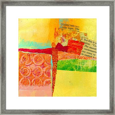 Crossroads 54 Framed Print by Jane Davies